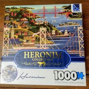 Heronia Collection 1000 Piece Puzzle